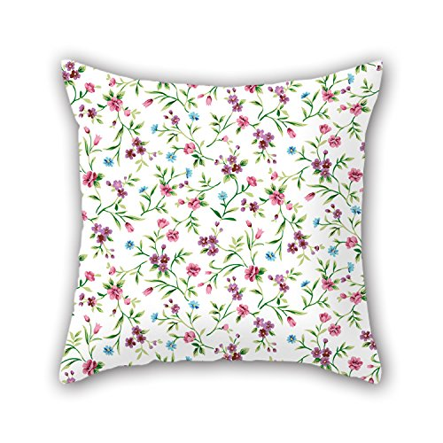 NICEPLW Flower Throw Pillow Case 20 X 20 Inches / 50 By 50 Cm Best Choice For Him,bedding,living Room,birthday,car Seat,home With Two
