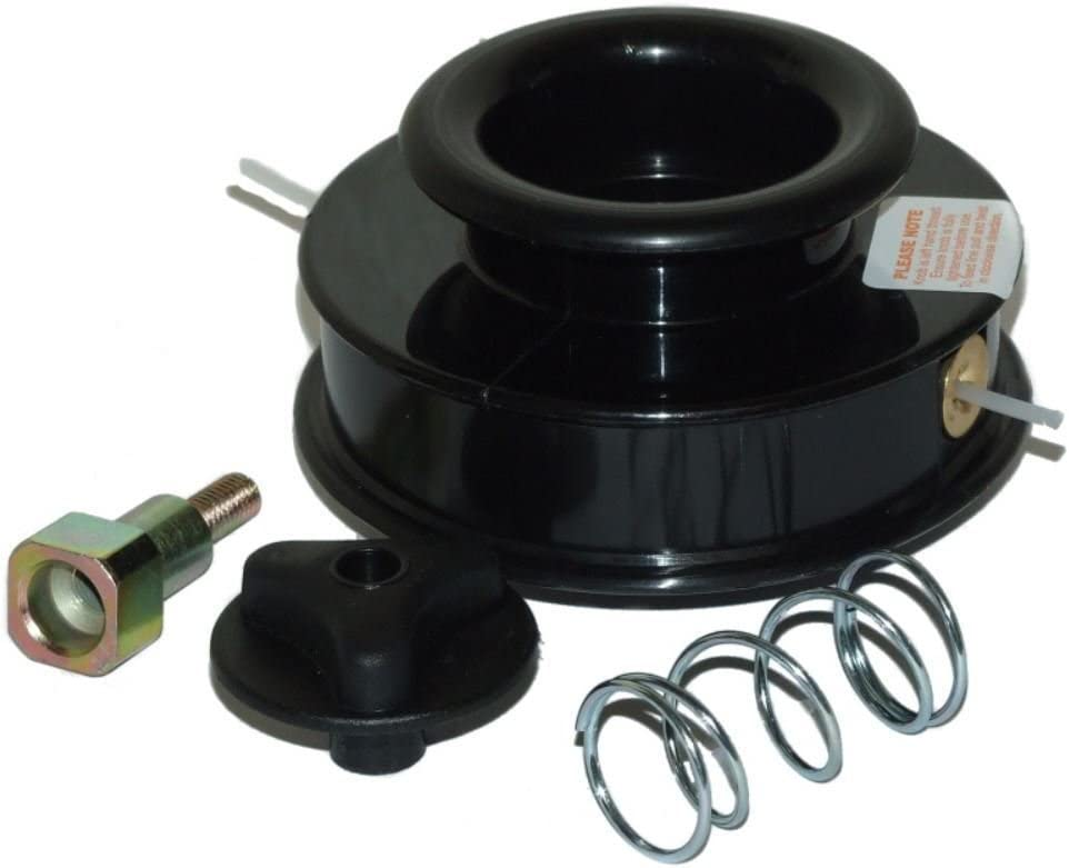 BMS - Cabezal de 2 líneas para desbrozadora Stihl FS120 FS120R ...