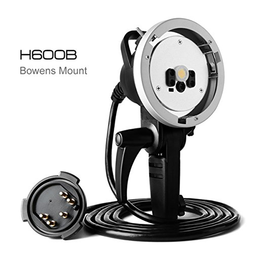 Studio Flash Heads (Godox AD-H600B 600W Flash Head Protable Off-Camera Light Lamp for Godox Witstro AD600B AD600BM - Bowens Mount)