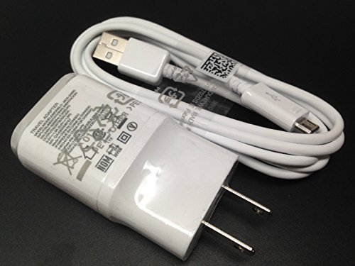 OEM LG 1.8 Charger MCS-04WD with 2.0 5FT Micro USB for LG G2 Google Nexus G Flax L9 F3 - Lg Original Travel Charger