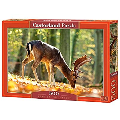 Castorland B 52325 Puzzle King Of The Forest 500 Pezzi