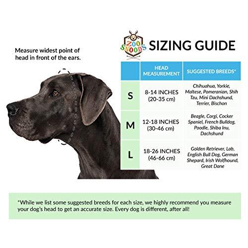 Zoo Snoods Bull Dog Costume - Neck Ear Warmer Headband Protector (Medium) by Zoo Snoods (Image #7)