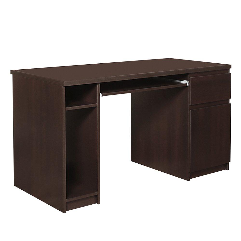Furniture To Go Pello Twin Pedestal Desk, 166 x 75 x 65 cm, Dark Stained Pine Wojcik 4148043P