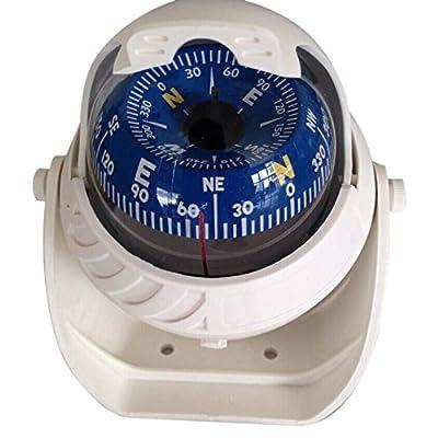 compass - TOOGOO(R)Big K LED ball compass Boat compass Marine Compass Compass Compass Navigation white
