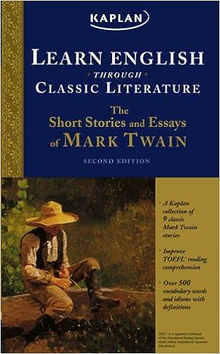 com the short stories and essays of mark twain learn com the short stories and essays of mark twain learn english through classic literature 9781419552298 mark twain books