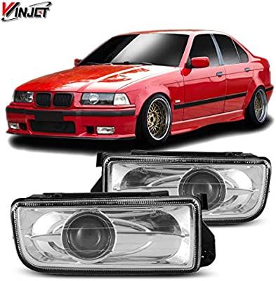Winjet WJ30-0078-09 Clear Lens Projector Fog Light (BMW M3