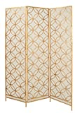 Deco 79 67068 Metal Wire 3 Panel Screen, 57'' x 79''