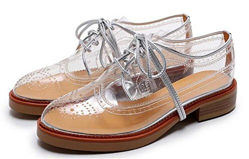 YEEY Primavera verano zapatos planos para mujer protección del medio ambiente material transpirable cómodo paseo al aire libre White