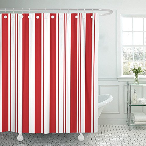 "Emvency 72""x78"" Shower Curtain Waterproof Home Decor White C"