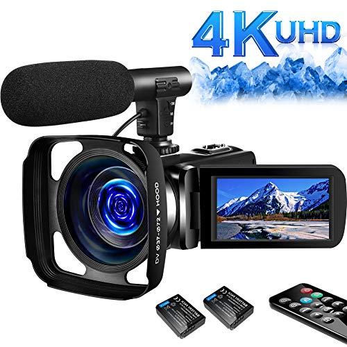 SAULEOO 4K Video Camera