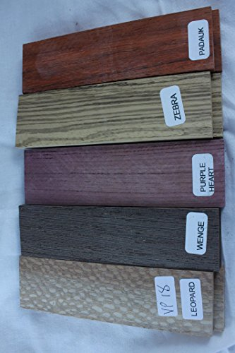 Payne Bros Custom Knives Variety Pack of 5 Wood Scales, for sale  Delivered anywhere in USA