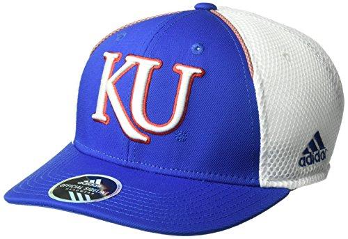 adidas NCAA Kansas Jayhawks Adult Men Spring Game Structured Adjustable Hat, One Size, Royal