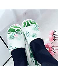 ZYGAJ Summer Slipper ShoesFlamingo Slippers For Womens Ladies Fish Mouth At Home Indoor Shoes