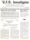 The U.F.O Investigator October 1961, National Investigations Committee on Aerial Phenomena (NICAP)