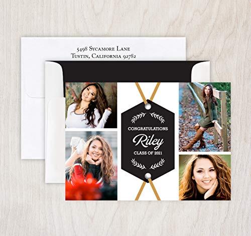 Meridian Graduation Invitation - Set of -
