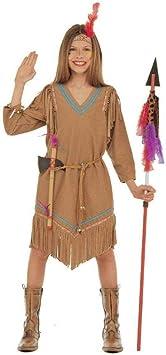 WIDMANN Widman - Disfraz de indio del oeste para niña, talla 10 ...