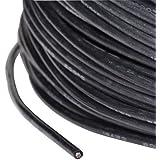 cable de silicona AWG 18 0.75 mm2 altamente flexible super suave negro partCore