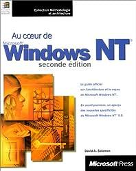 AU COEUR DE WINDOWS NT. 2ème édition