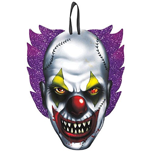 Creepy Carnival Clown Cutout | Halloween Decor ()