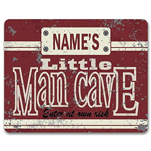 Amazoncom Klandoo Little Man Cave Retro Wall Metal Tin