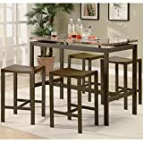 Coaster-Home-Furnishings-Casual-Dining-Room-5-Piece-Set