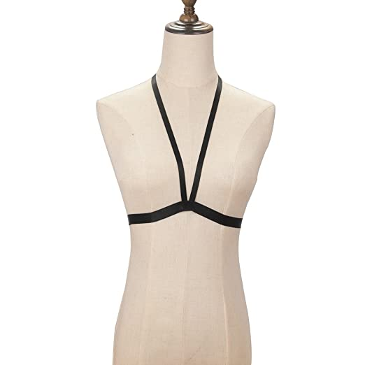 9644a6e7565 Image Unavailable. Image not available for. Color  Sweetichic Harness Bra
