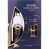 Vodka Beluga Transatlantic Racing 700 ml, Caja de regalo con vidrio