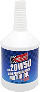Red Line 12504 SAE 20W50 High Performance Motor Oil