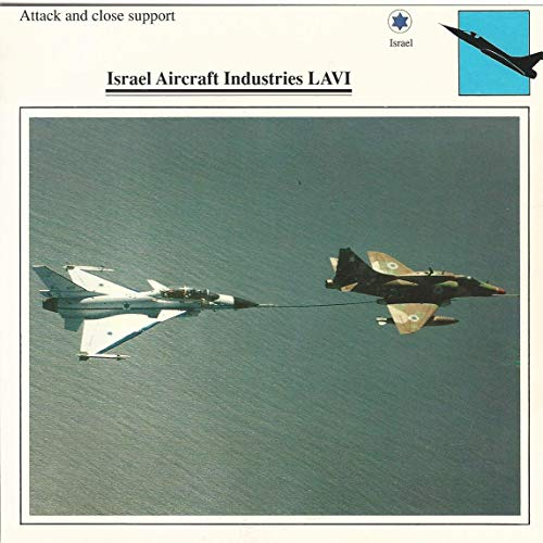 1990 Edito-Service, War Planes Cards, Airplanes, 12.06 Israel Aircraft Industries