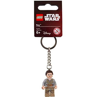 LEGO Star Wars Rey 2016 Key Chain 853603: Toys & Games
