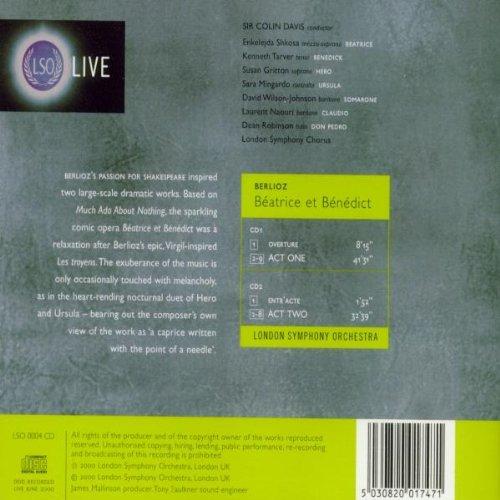 Berlioz: Beatrice & Benedict by LSO LIVE
