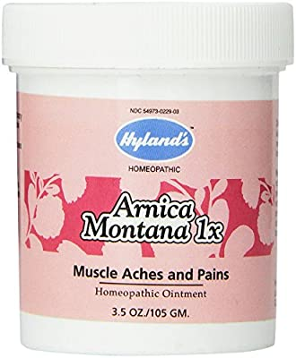 Hyland's Arnica Montana, Natural Homeopathic Relief for Muscle Aches and Pains, 1 Ounce