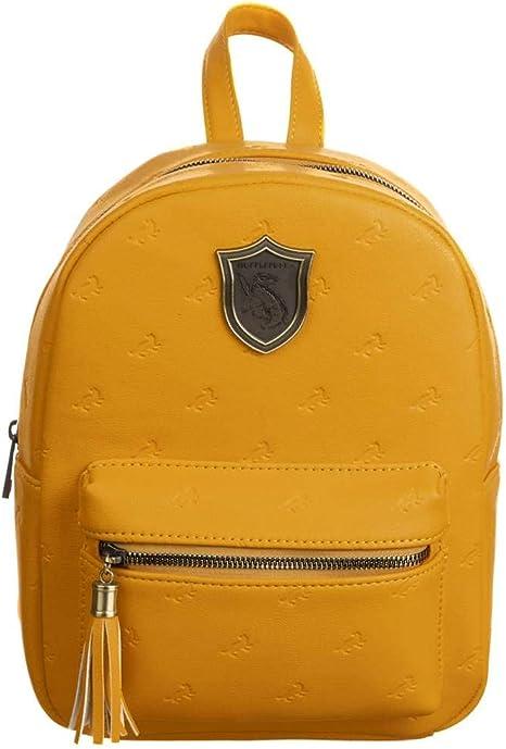 Hogwarts Hufflepuff Harry Potter Faux Leather Mini Backpack