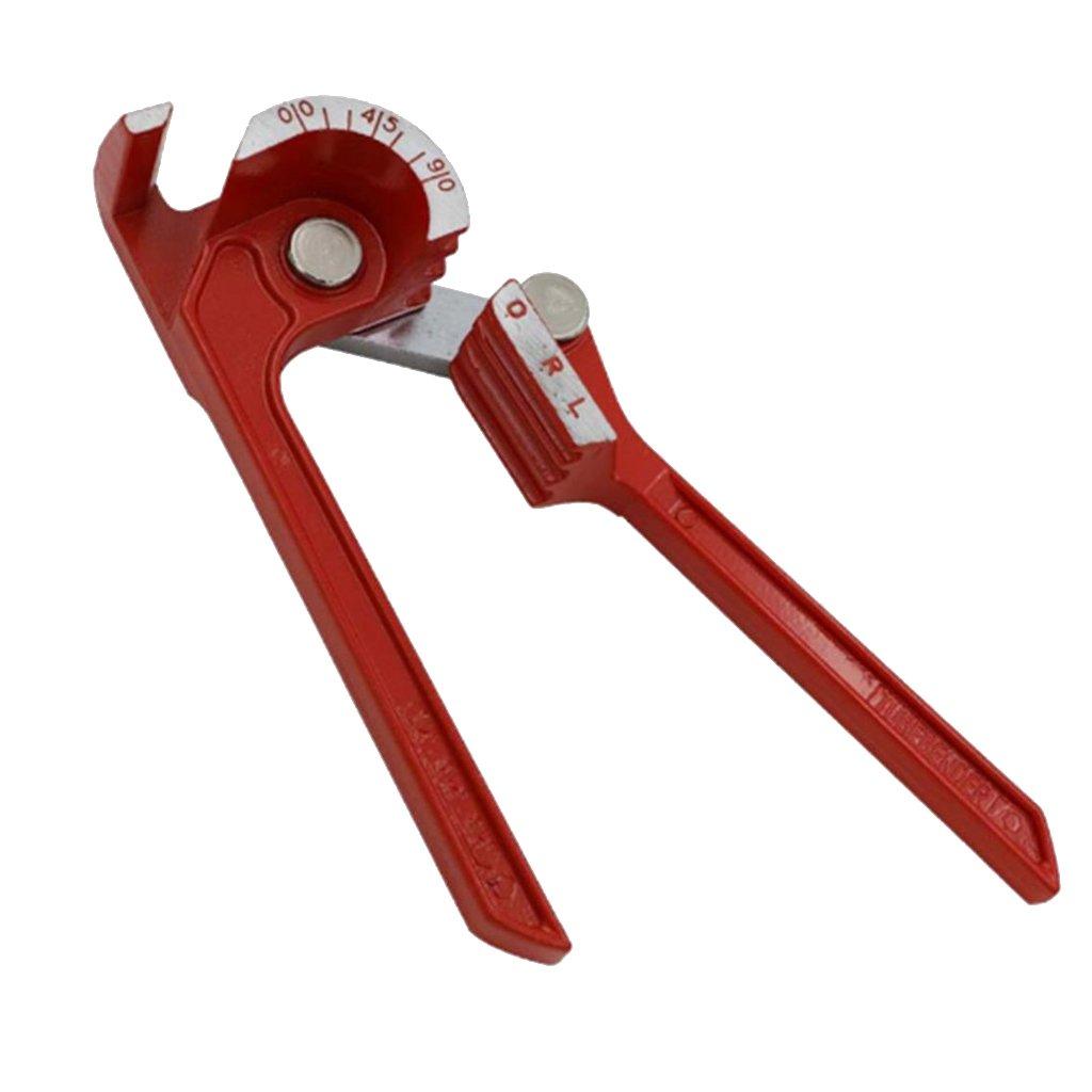 Homyl Professional Pipe Bender Heavy Duty 6/8/10mm Manual Pipe Tubing Bender Handheld Machine