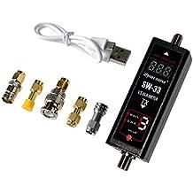 Gam3Gear SURECOM SW-33 Mark II 100 W 125-525 Mhz Mini Digital VHF UHF Two-Way Radio Handheld Power & SWR Meter