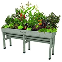 Vegtrug VTWHMDGW0392USA Grey Wash Wall Hugger Medium 1.8m Raised Planter