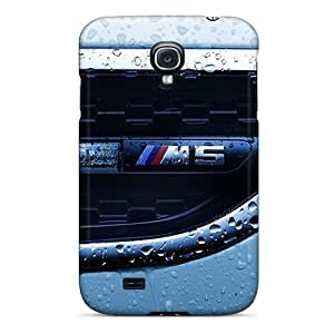 S4 Scratch-proof Protection Cases Covers For Galaxy/ Hot Closeup Cars Water Drops Bmw M5 Phone Cases