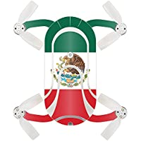 Skin For ZEROTECH Dobby Pocket Drone – Mexican Flag | MightySkins Protective, Durable, and Unique Vinyl Decal wrap cover | Easy To Apply, Remove, and Change Styles | Made in the USA