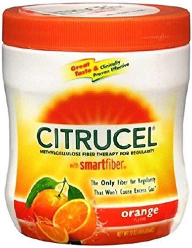 Citrucel Fiber Supplement (Citrucel - Fiber Supplement - Orange Powder - 16 oz. 2 Gram Strength - Methylcellulose)