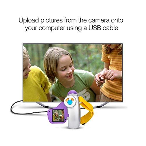 Digital Video Camera for Kids, AMKOV Kids Camcorder, 1.44 Inch Full-Color TFT Display Kids Camera by AMKOV (Image #4)