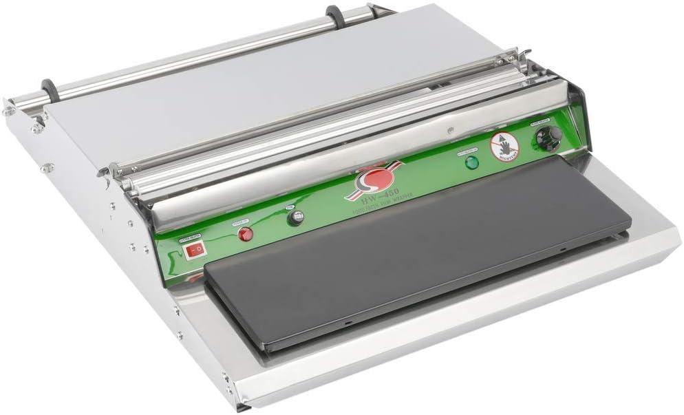 PrimeMatik - Máquina de envasado de Comida para Bobina de Film de plástico de 450 mm