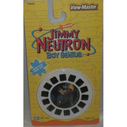 Jimmy Neutron Boy Genius - View-Master 3 REEL SET - 21 3D Images