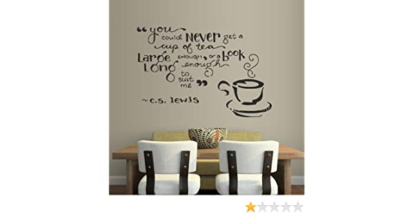 TIME FOR TEA LADY WALL ART KITCHEN CAFE RESTAURANT