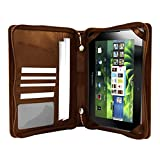 Hip Street HS-PBCASE-E1TN Leather Executive Case for Playbook (Tan)