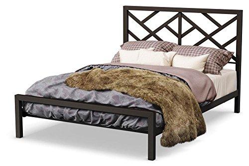 - Amisco Windmill Platform Bed in Textured Dark Brown Finish (Full: 80.875 in. L x 54.5 in. W x 47.25 in. H)