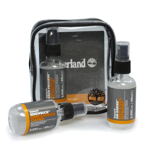 Cortés Despedida Literatura  Timberland Travel Kit Plus - Balm Proofer, Renewbuck & Air Raider Refresher  Cleaning Kit- Buy Online in Latvia at latvia.desertcart.com. ProductId :  18513970.