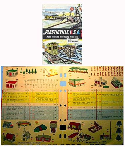 Bachmann Plasticville 1962 HO Scale catalog