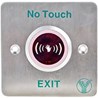 UHPPOTE No Touch Infrared Sensor Exit Button Door Release Buttons Switch NO/NC/COM