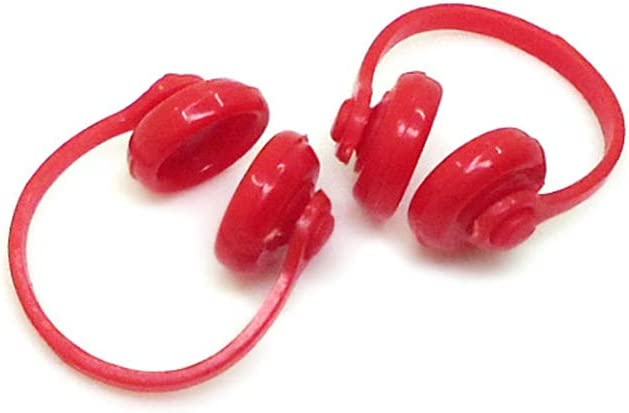 Kdjsic 2 uds 1:12 Escala casa de mu/ñecas Accesorios en Miniatura Mini casa de mu/ñecas Auriculares Auriculares decoraci/ón colecci/ón Regalo