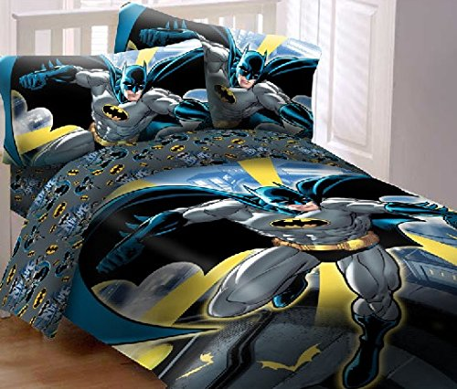 Batman City Reversible Super Soft Comforter Set